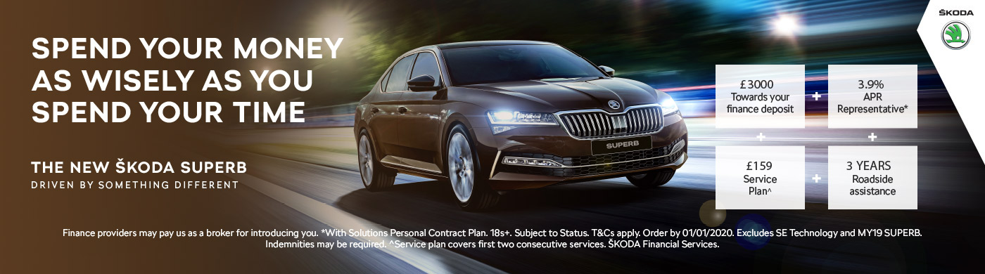 Skoda Superb - Home