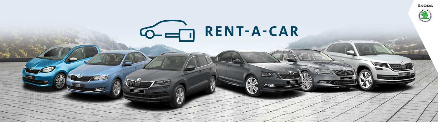 Rent A Car - Skoda Home