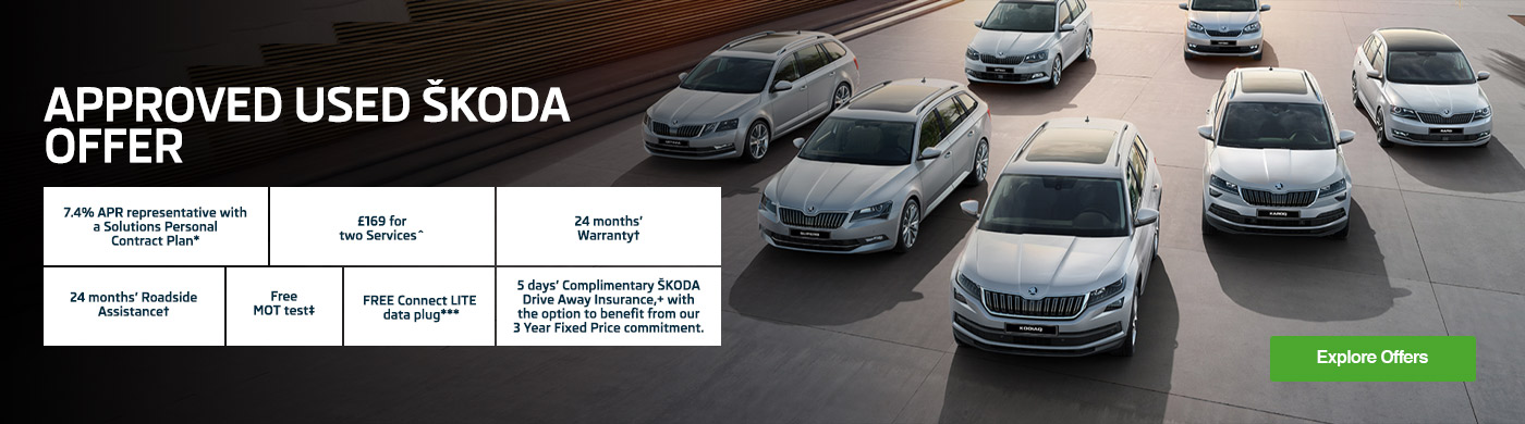 Skoda Used Car Offer Banner