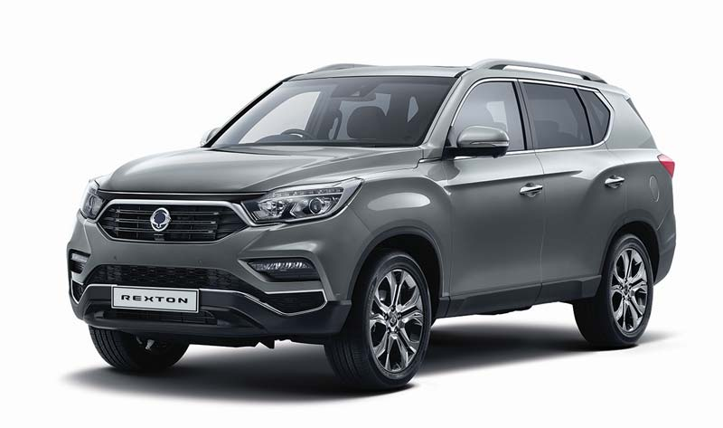 REXTON PERSONAL CONTRACT HIRE